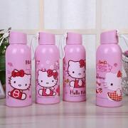 Oytra Milk Glass Bottle | 350 ml | Single Bottle for Kids / Baby / Infants / Toddlers / School Kids / Water Bottle for Kids (Pink)