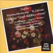 J. Haydn - Harmoniemesse/ Cantata Qua (0825646905522) (1 CD)