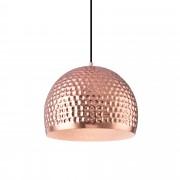[lux.pro] Lámpara colgante de diseño cobre- blanca metal