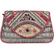 Anekaant Party Multicolor Clutch