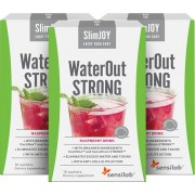 SlimJOY WaterOut Strong - o efeito de emagrecimento mais rápido. Bebida de sabor a framboesa. 2x 10 saquetas