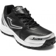 Jazba One Drive 110 Cricket Shoes For Men(Black)