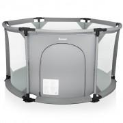 Baninni Playpen Circo Round Light Grey BNSF005-LGY