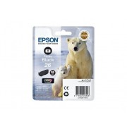 Epson Cartucho de tinta original EPSON, 26, Oso polar 4,7 ml , Negro foto, C13T26114022, T2611
