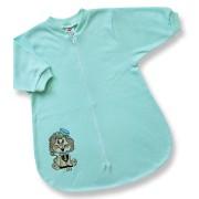 Spací vak pre bábätká - LION, zelený Velkosť: 56