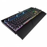 KBD, Corsair STRAFE RGB MK.2, Gaming, Backlit RGB LED, Cherry MX Silent US, USB (CH-9104113-NA)