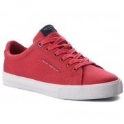 Гуменки PEPE JEANS - New North Basic PMS30420 Factory Red 220