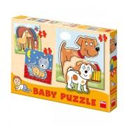 SET DE PUZZLE-URI - ANIMALE (3-5 PIESE) (325036)