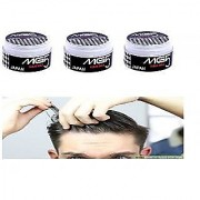 3 PCS COMBO OFFER Hair Waax MG5 JAPAN SUPER STRONG HAIR STYLING WAX SUPER HOLD HAIR GEL