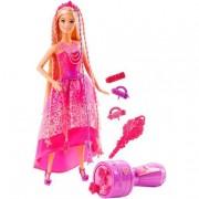 Mattel Barbie - Muñeca Reino de los Peinados