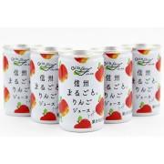 長野興農信州無調整りんごジュース (160g×30本)×1箱
