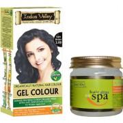 Ultima Hair Spa Deep Nourishing Creambath For Hairs And Gel Dark Brown 3.00 Combo Pack Of 2