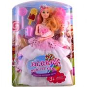 KidzFan Fashion Doll Beauty Girl With Princess Dress Best Gift For Birthday Girl Rich Quality