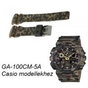 GA-100CM-5A Casio terepmintás műanyag szíj