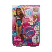 Set se joaca papusa Mattel Barbie Dreamhouse - Teresa si sala de gimnastica ritmica
