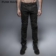 pantalon pour hommes PUNK RAVE - The Smog - K-239_B