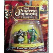 Pirates of the Caribbean At Worlds End Pirate Captains & Crews Series Singapore Pirate and Captain S