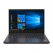 Laptop Lenovo ThinkPad E14 14 inch FHD Intel Core i5-10210U 8GB DDR4 256GB SSD Windows 10 Pro Black