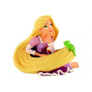 Figurina Bullyland Rapunzel cu Pascal din Tangled