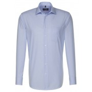Seidensticker Overhemd Striped Business Blauw / male