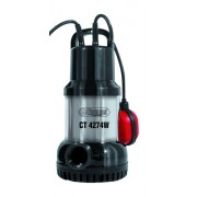 Pompa submersibila cu flotor pentru apa curata, Ct4274W, Elpumps , 15000 l/h, 800W
