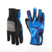 PBK Poligo Winter Gloves - M - Black/White/Grey