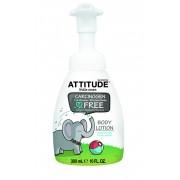 Lotiune de corp bio fara miros pentru copii Attitude 300 ml