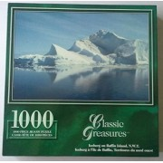"Classic Treasures Series ""Iceberg on Baffin Island N.W.T.""; 1000 Piece Puzzle"
