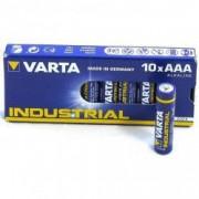 Baterii Alcaline Varta Industrial 4003 AAA R3 1.5V 10 Baterii / Cutie