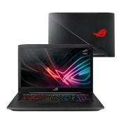 """NB Asus GL703GE-GC017T, crna, Intel Core i7 8750H 2.2GHz, 1TB HDD, 128GB SSD, 16GB, 17.3"""" 1920x1080, nVidia GeForce GTX 1050 Ti 4GB, Windows 10 Home, 24mj, (90NR00D2-M01000)"""