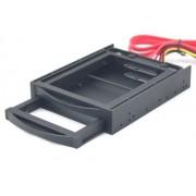 Gembird 3.5 mobilni rek za HDD SATA 2.5 crni (MR3-2SATA2.5-01)