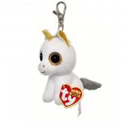 ty unicorno peluche pegasus collezione beanie boos clips