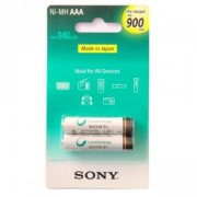АКУМУЛАТОРНА Батерия Sony, Rechargeables, 2 x AAA, 900 mAh, Ready To Use, NH-AAAB2GN