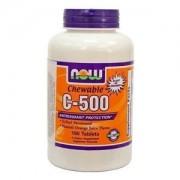 Now c-500 narancs ízű rágótabletta 100db