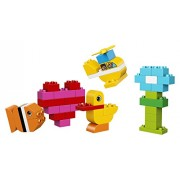 Duplo Lego My First Bricks 10848 Building Kit (80 Piece), Multicolor