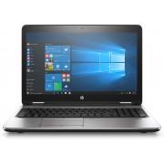 "HP ProBook 650 G3 2.50GHz i5-7200U 15.6"" 1366 x 768pixels Black, Silver Notebook"