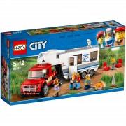 Lego City: Camioneta y caravana (60182)