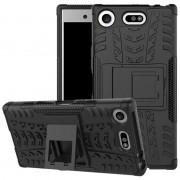 Capa Híbrida Antiderrapante para Sony Xperia XZ1 Compact - Preto