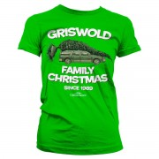 Tee Griswold Family Christmas Girly Tee