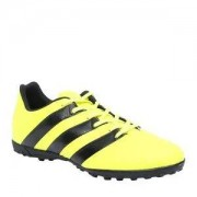 Adidas Chuteira Ace 16 4 TF - Amarelo Neon & Preta - Adidas