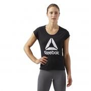 REEBOK T-Shirt mit rundem Ausschnitt und Print vorne