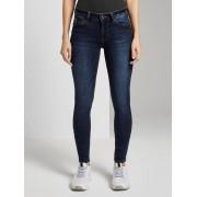 TOM TAILOR DENIM Jona Extra Skinny Jeans, dark stone wash denim, 28/32