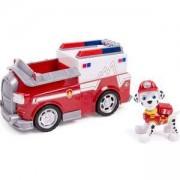Игрален комплект Пес Патрул - Маршал с пожарна кола, 025062