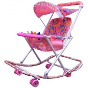 Walker Neerja baby Pink color walker with 3 in 1