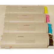 4 Stück Toner Kartuschen ( Rainbow Kit ) kompatibel f. OKI C5650N C5650DN C5750N C5750DN