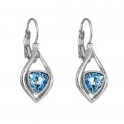 Cercei cu cristale Swarovski FaBOS, Aquamarine 7740-1241-03