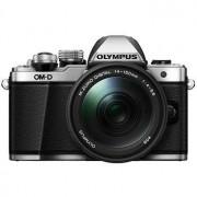 Olympus E-M10 Mark II kamerahus silver + M.Zuiko Digital ED 14-150/4-5,6 II