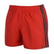 Costum de Baie Bărbați Adidas 3S SH VSL Roșu - Mărime L
