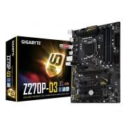 Matična ploča MB LGA1151 Z270 Gigabyte GA-Z270P-D3, PCIe/DDR4/SATA3/GLAN/7.1/USB 3.1