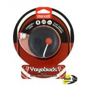 "Maxell slušalice ""yoyobuds"" black/red"